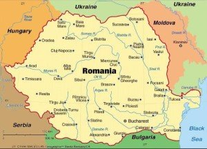 City of Caracal in Romania is 150 km west of Bucharest