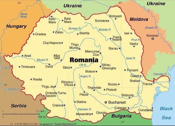 Romania In Us Map Globalinterco - Romania in us map