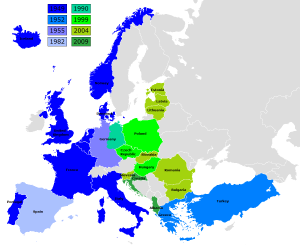 NATO expansion over the decades