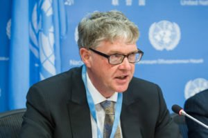 Chair of the UN Subcommittee on Prevention of Torture, Malcolm Evans (UN Photo)
