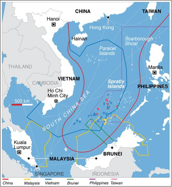 The U.S., UNCLOS and the militarisation of the South China Sea - New on