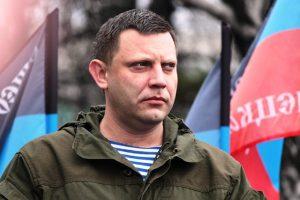 Aleksandr Zakharachenko, First Minister of the Donetsk Peoples Republic
