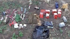 Explosives found on Ukrainian saboteurs arrested in Crimea on Aug 6, 2016 (photo by Russian federal police)