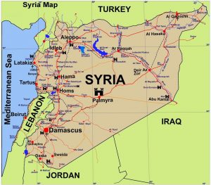 Map of Syria 3
