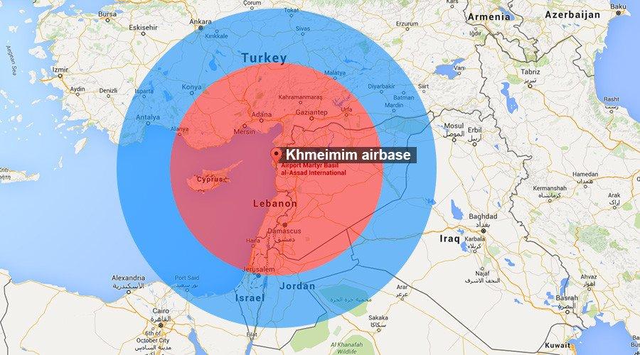 Resultado de imagen para base aérea de Khmeimim