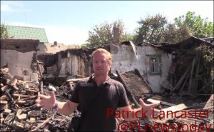 Video journalist Patrick Lancaster reports on Ukrainian shelling of Donetsk during night of Aug 29-30, 2016