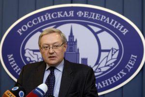 Deputy Foreign Minister of Russia Sergey Ryabkov