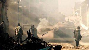 Fighting in eastern Syrian city of Deir Al Zour (Imago, Zuma Press)