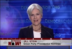 Jill Stein responds on Democracy Now! to Clinton-Trump debate of Sept 26, 2016