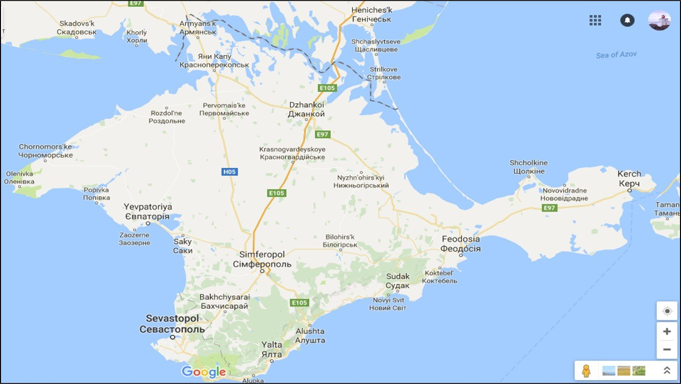 Per aspera ad Crimea A difficult road to Crimea from Ukraine New