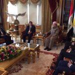 People's Democratic Party delegation visits Iraqi Kurdistan, appeals for Kurdish unity