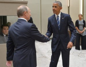 Presidents Putin and Obama meet at G20 meeting in China on Sept 4, 2016 (photo by Office of President of Russia)