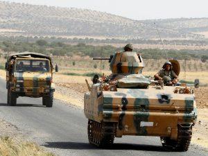Turkey's military intervention into northern Syria on August 24, 2016 (Umit Berkas, Reuters)