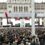 Official ceremony and protests mark Hungary's 60-year commemoration of 1956 uprising