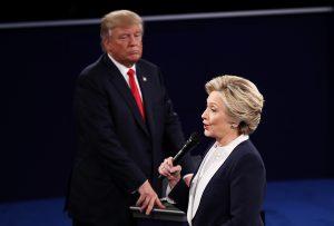 Second U.S. presidential debate on Oct 9, 2016