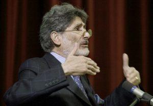 The late Palestinian scholar Edward Said