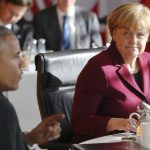 Merkel says Europe-U.S. 'free trade' deal is dead