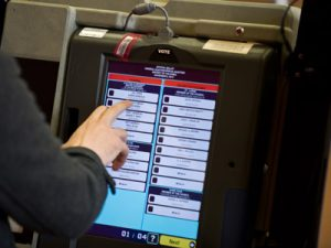 'Black box' voting machine in the United States