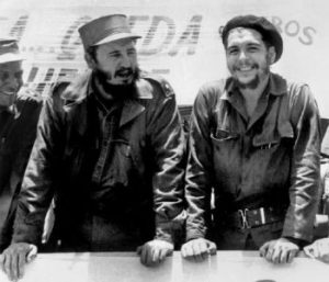 Fidel Castro (L) and Che Guevara in the early years of the Cuban Revolution of 1959