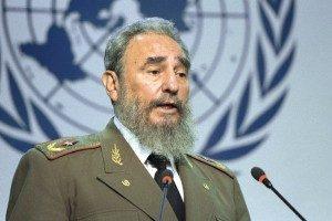 Fidel Castro speaking at 1992 Earth Summit in Rio Di Janeiro