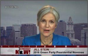 Jill Stein interviewed on Nov 30, 2016