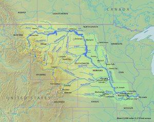 Missouri River basin