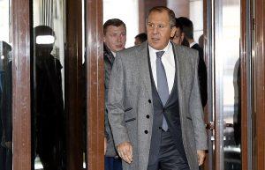 Russian Foreign Minister Sergei Lavrov (Tatyana Zenkovich, EPA)