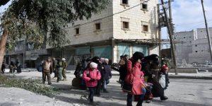 Civilian evacuation from eastern Aleppo, Syria (photo by SANA)