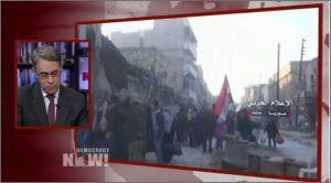 Human Rights Watch's Robert Roth wages grave accusations against the Syrian gov't on Democracy Now! on Dec 14, 2016