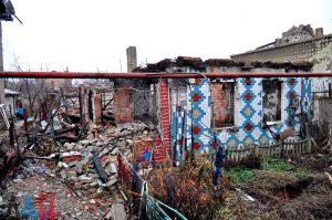 Recent Ukrainian shelling of housing district in Donetsk (DAN News)