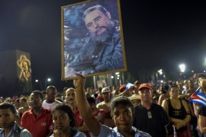 Tens of thousands of Cuban people rallied in Santiago de Cuba on December 3, 2016 to bid a final 'Hasta la victoria siempre' to their beloved leader, Fidel Castro