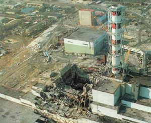 Unidentified photo of 1957 Mayak nuclear facility accident in the town of in the closed town of Ozyorsk, Russia