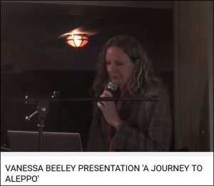 Vanessa Beeley speaks to public forum in Frome, England on Nov 9, 2016