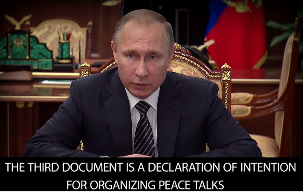 Agreement Reached On Ceasefire And Peace Talks In Syria New Cold