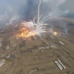 Blaze at Ukrainian munitions depot extinguished, residents return home