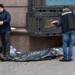 CCTV captures cold-blooded murder in Kyiv on March 23 of former Russian MP