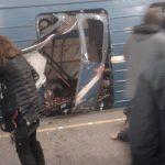 Subway bombing in St Petersburg, Russia