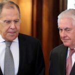 Syria: Rex Tillerson gets icy reception in Russia as Vladimir Putin warns relations eroding