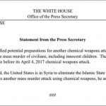It's official: Any future gas attacks in Syria are definite false flags