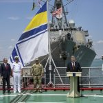 NATO naval exercises in Black Sea waters off Odessa as Ukraine steps up attacks in Donbass and White House signals support to bipartisan proposal for more sanctions against Russia