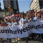 Trial of 17 journalists of Turkey's 'Cumhuriyet' daily newspaper opens in Istanbul