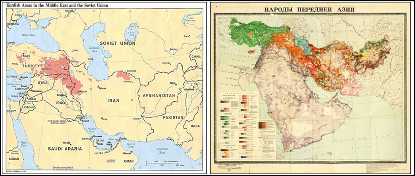 Maps of kurdish populated areas in the middle east on left is cia maps of kurdish populated areas in the middle east on left is cia map from 1986 on right is soviet union ethnographic map from 1960 gumiabroncs Choice Image