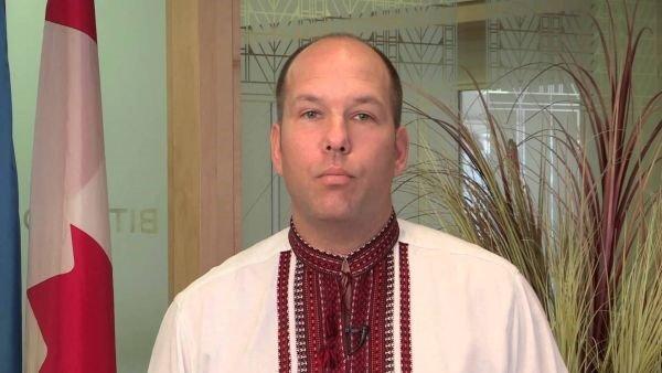 Canadian Ukrainian Congress (UCC) president Paul Grod