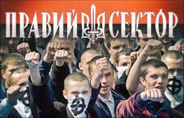 The Harper government allowed fund raising for Pravyi Sektor, a Ukrainian fascist paramilitary group