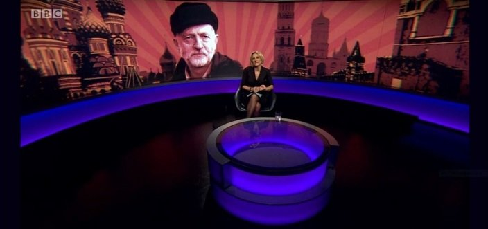 A photoshopped picture, depicting a Russian-capped Corbyn atop a Kremlin background, sparked a social media storm provoking 650,000 hits when it was first outed by the authors of this article. Their incisive analysis of the UK media's reportage raises disturbing questions about the standards of a profession which once proclaimed 'Nation shall speak truth unto Nation'