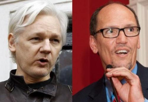 The Democratic National Committee has filed a lawsuit against the Russian government, the Trump campaign, and various individuals it alleges participated in the plot to hack its email servers and disseminate the contents as part of the 2016 election. The DNC also sued WikiLeaks for its role in publishing the hacked materials. Wikileaks says 'bring it on' - and is countersuing