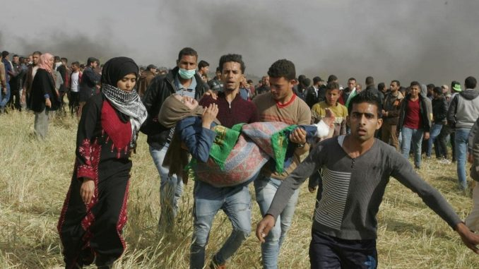 The Land Day Massacre of March 30, 2018 along the Gaza/Israel border: original article and and important compilation of news sources and journalist responses