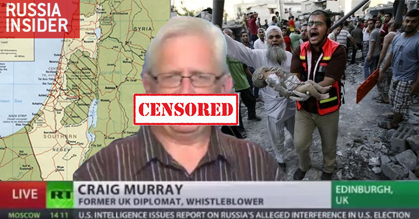 Craig Murray blocked by Facebook after criticizing Israel