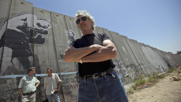 """""""What we should do is go and persuade our governments not to go and drop bombs on people. And certainly not until we have done all the research that is necessary so that we would have a clear idea of what is really going on."""" — Roger Waters"""