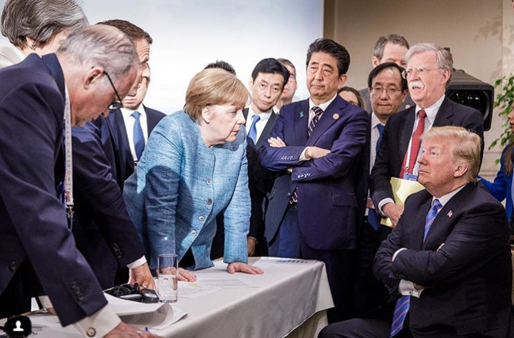 This article analyses the reasons for the Trump administration introducing tariffs against China and the background to the recent G7 and Shanghai Cooperation Organisation (SCO) summits.